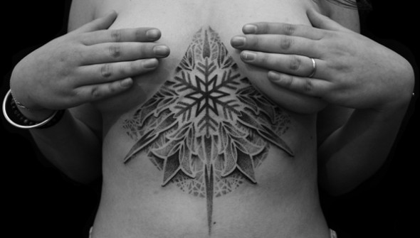 qkila tatouage dotwork