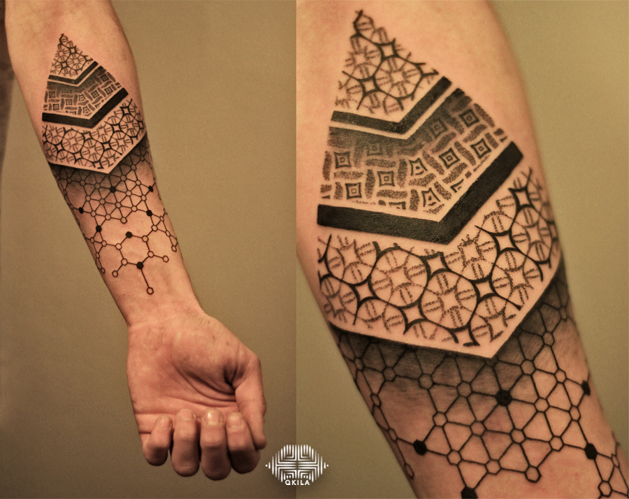 cellule tattoo,nimes,black,patterns tattoo,op art, sleeves tattoo, dotwork tattoo, qkila,geometric tattoo, ethnique tattoo, les tatoués anonymes, nimes